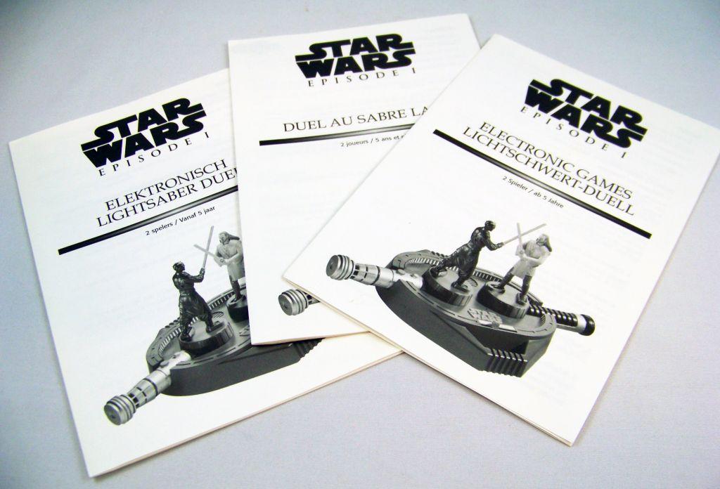 Star Wars Episode 1 (The Phantom Menace) - Lansay - Duel au Sabre Laser 05