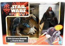 Star Wars Episode 1 (The Phantom Menace) - Sith Attack Speeder with Darth Maul