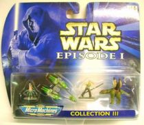 Star Wars Episode I MicroMachines - Collection III - Galoob-Hasbro