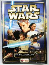 Star Wars Episode II L\'Attaque des Clones - Sticker Album (collecteur de vignettes) - Merlin Collection 2002