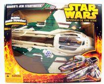 Star Wars Episode III (Revenge of the Sith) - Hasbro - Anakin\'s Jedi Starfighter (loose with box)