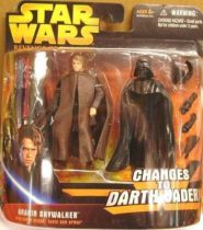 Star Wars Episode III (Revenge of the Sith) - Hasbro - Anakin Skywalker (changes to Darth Vader) Deluxe