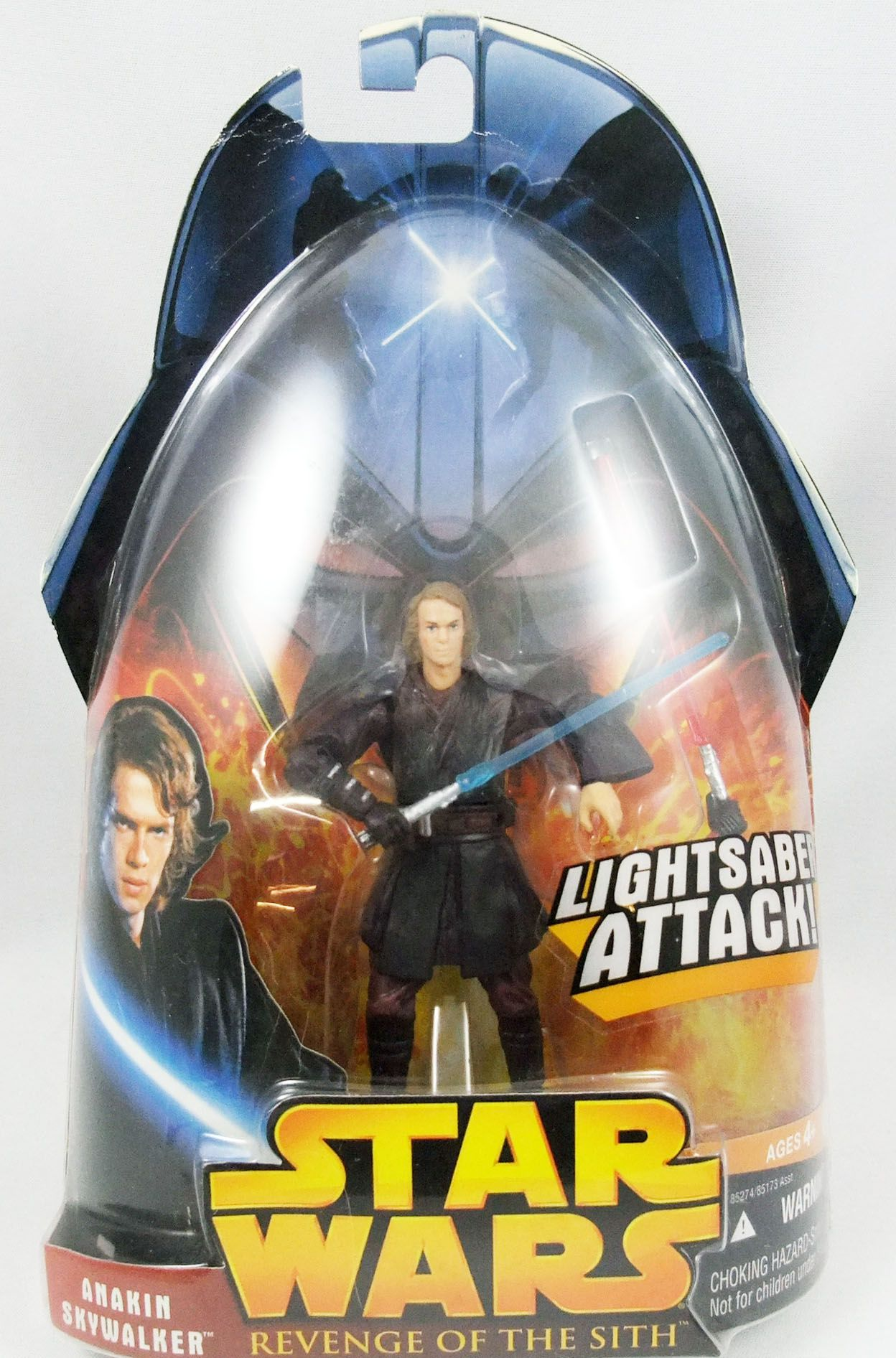 Star Wars Episode Iii Revenge Of The Sith Hasbro Anakin Skywalker Lightsaber Attack 2