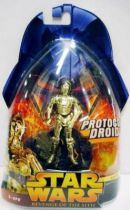 Star Wars Episode III (Revenge of the Sith) - Hasbro - C-3PO (Protocol Droid #18)