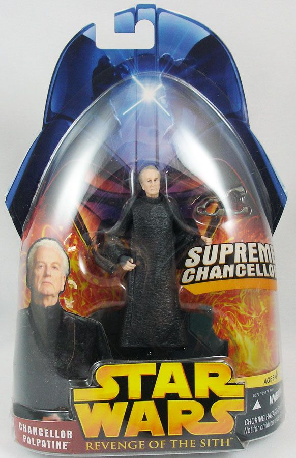 Star Wars ROTS Chancellor Palpatine LOOSE COMPLETE MINT