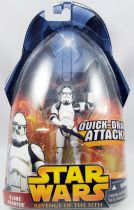 Star Wars Episode III (Revenge of the Sith) - Hasbro - Clone Trooper (Quick-draw Attack #6)