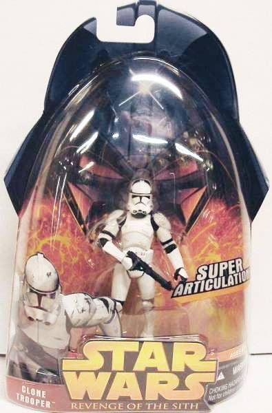 Star Wars Episode Iii Revenge Of The Sith Hasbro Clone Trooper Super Articulation 41