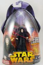 Star Wars Episode III (Revenge of the Sith) - Hasbro - Emperor Palpatine (Firing Force Lightning #12)