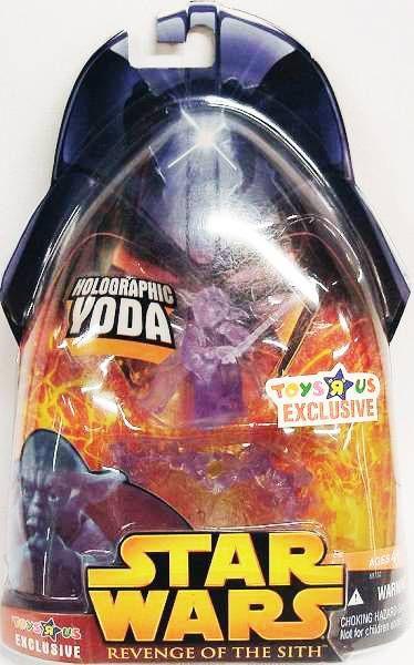 Star Wars Episode Iii Revenge Of The Sith Hasbro Holographic Yoda Kashyyyk Transmission Toys R Us Exclusive