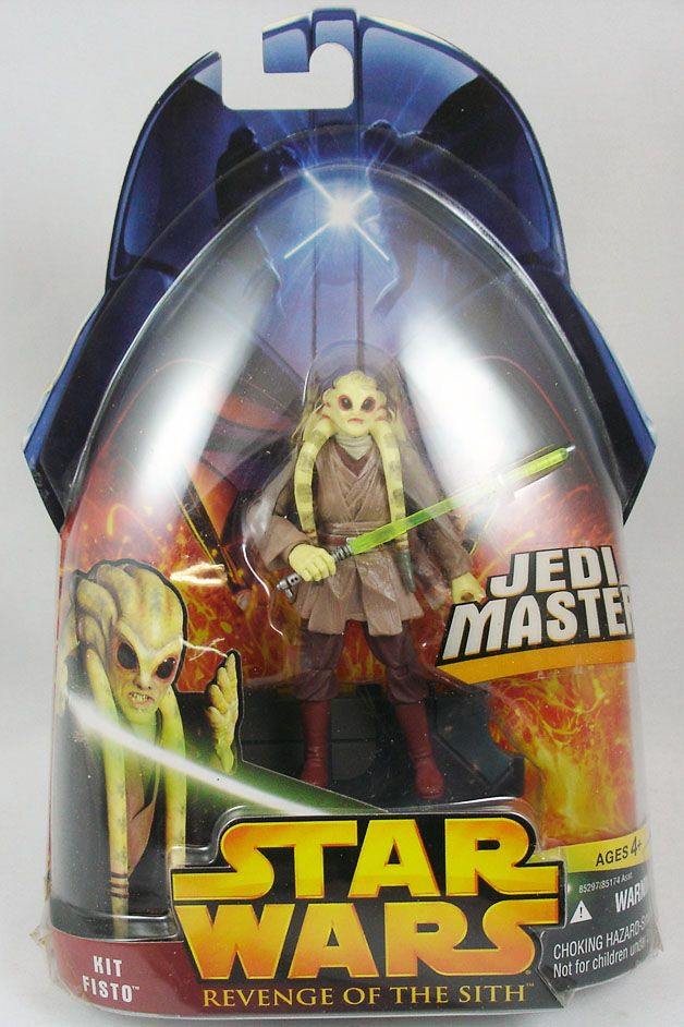 Star Wars Episode Iii Revenge Of The Sith Hasbro Kit Fisto Jedi Master 22