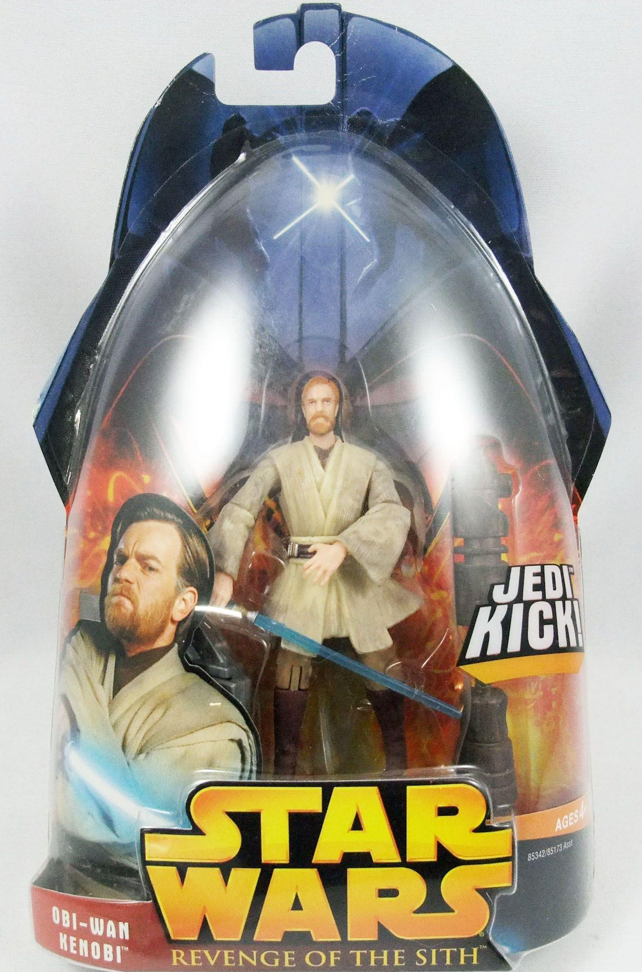 Star Wars Episode Iii Revenge Of The Sith Hasbro Obi Wan Kenobi Jedi Kick 27