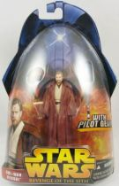 Star Wars Episode III (Revenge of the Sith) - Hasbro - Obi-Wan Kenobi (With Pilot Gear #55)
