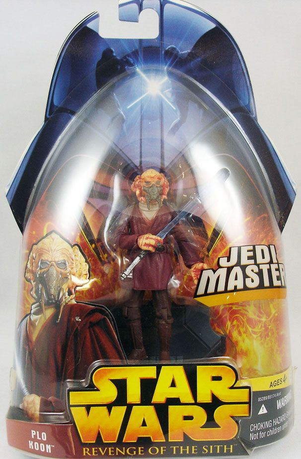 Star Wars Episode III (Revenge of the Sith) - Hasbro - Plo Koon (Jedi Master #16)