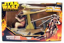 Star Wars Episode III (Revenge of the Sith) - Hasbro - Wookiee Flyer with Wookiee Warrior