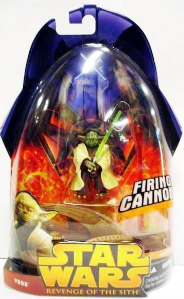 Star Wars Episode Iii Revenge Of The Sith Hasbro Yoda Firing Cannon 3