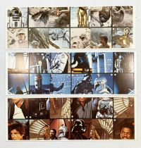 Star Wars ESB 1980 - Burger King / Coca Cola Promotional Trading Cards (Set of 36 cards)