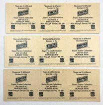 Star Wars ESB 1980 - Burger King / Coca Cola Promotional Trading Cards (Set of 36 cards)