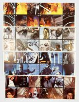 Star Wars ESB 1980 - Burger King / Coca Cola Promotional Trading Cards (Set of 48 cards)