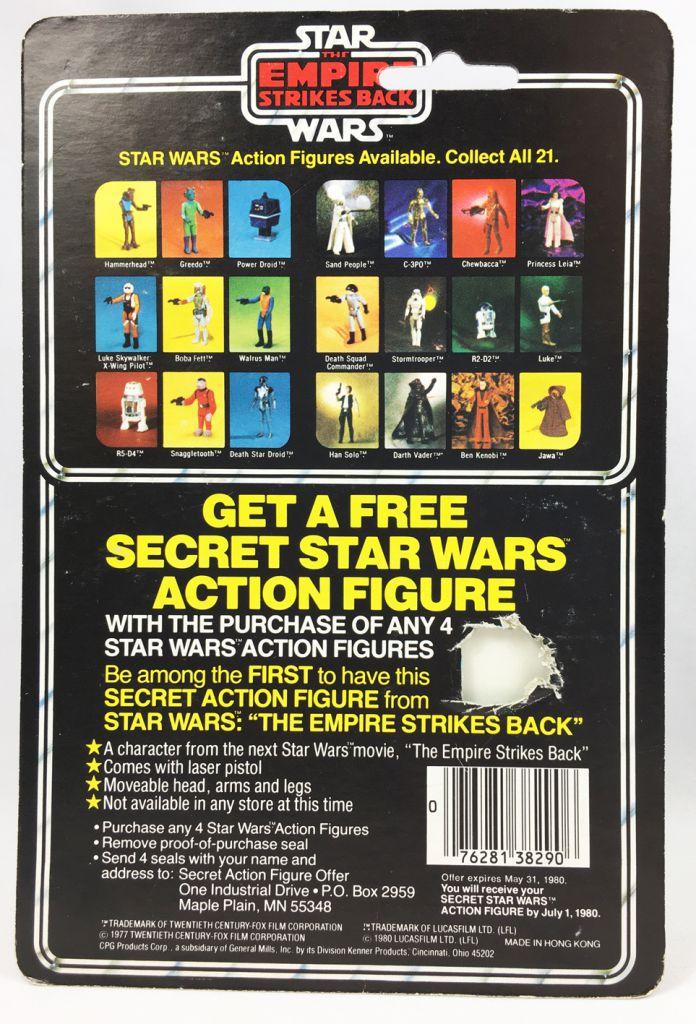 Star Wars ESB 1980 - Kenner 21Back - Death Squad Commander (Secret SW Figure Offer)