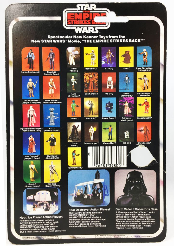 Star Wars ESB 1980 - Kenner 32Back - Lando Calrissian