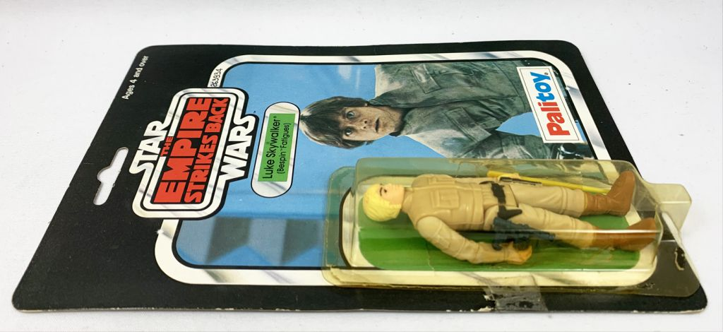 "Star Wars ESB 1980 - Palitoy 30back A - Luke Skywalker ""Bespin Fatigues\"" (Miro-Meccano Archives)"