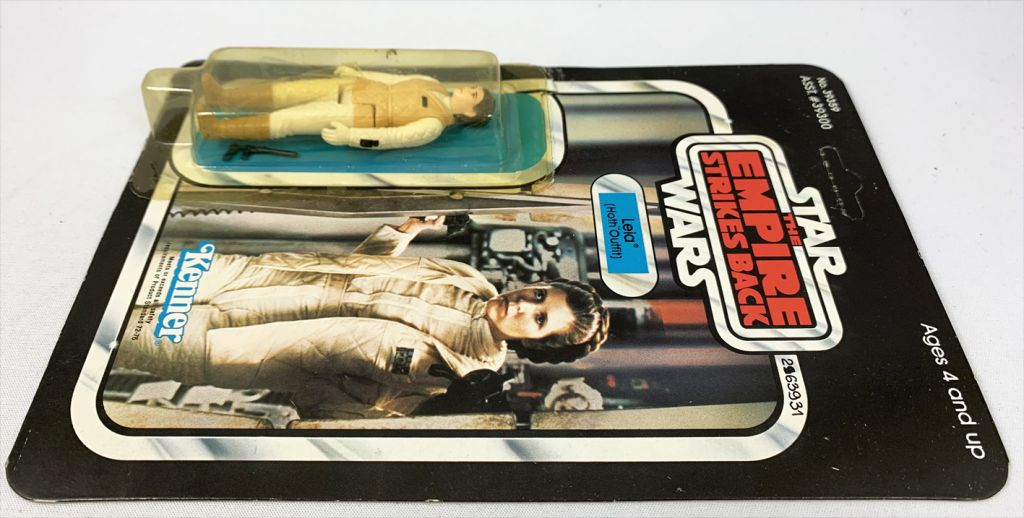 """Star Wars ESB 1980 - Palitoy 41back - Leia \""""Hoth Outfit\"""" (Miro-Meccano Archives)"""