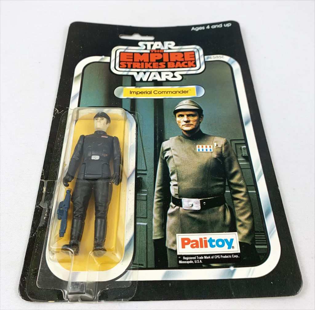 Star Wars ESB 1980 - Palitoy 41back A - Imperial Commander (Miro-Meccano Archives)