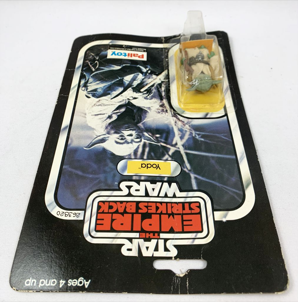Star Wars ESB 1980 - Palitoy 41back B - Yoda (Miro-Meccano Archives)