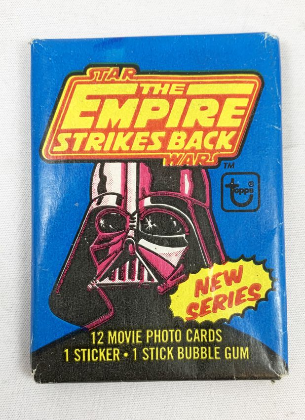 Star Wars ESB 1980 - Topps Trading (Series 2) Cards Wax Pack