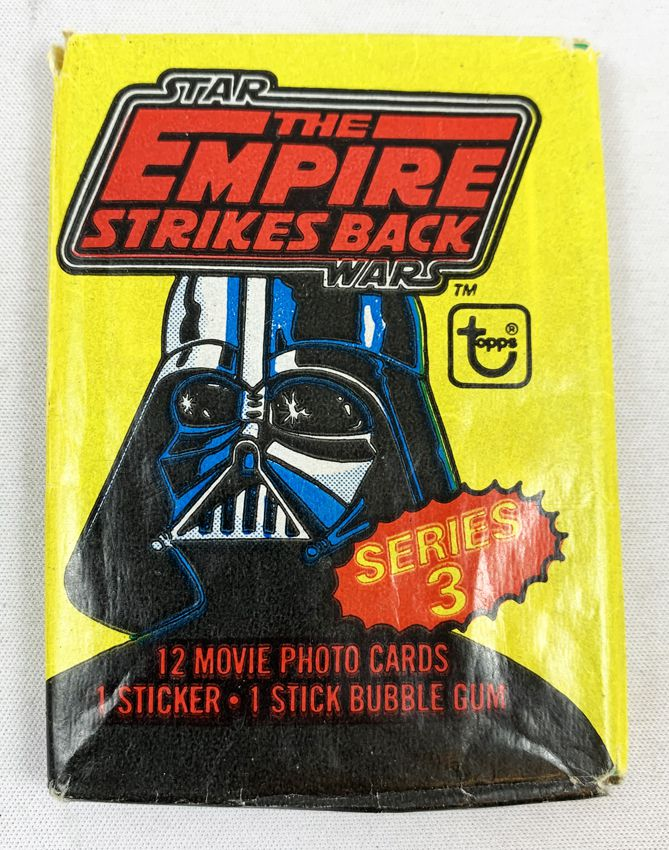Star Wars ESB 1980 - Topps Trading (Series 3) Cards Wax Pack