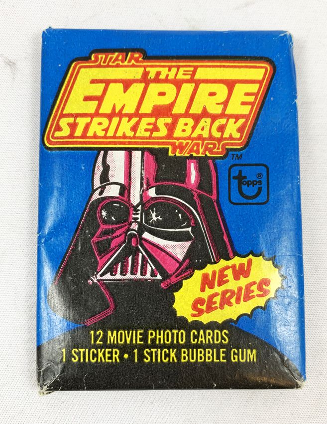 Star Wars ESB 1980 - Topps Trading Cards Wax Pack