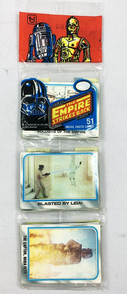Star Wars ESB 1980 - Topps Trading Rack Pack 51 Movie Photo Cards