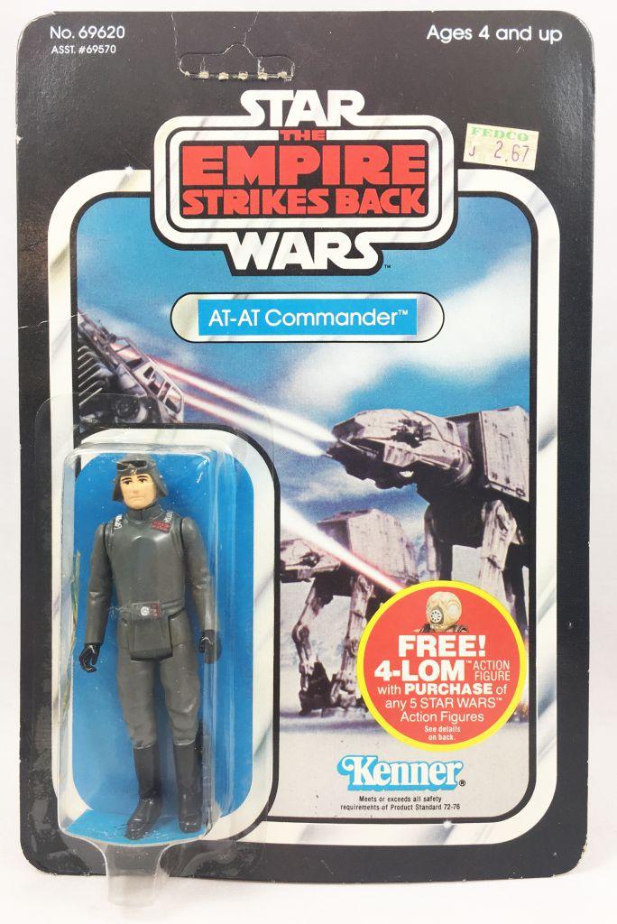 Star Wars ESB 1982 - Kenner 47back - AT-AT Commander