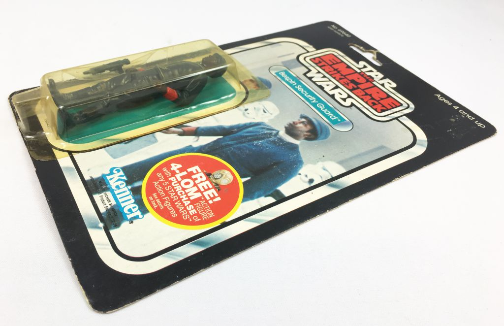 Star Wars ESB 1982 - Kenner 47back - Bespin Security Guard