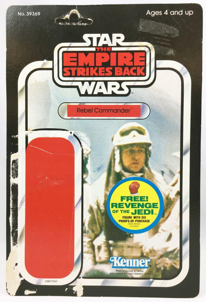 Star Wars ESB 1982 - Kenner 48Back - Rebel Commander (Revenge of the Jedi sticker)