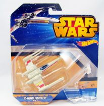 Star Wars Hot Wheels - Mattel - X-Wing Fighter Red 3