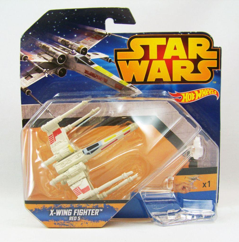 Star Wars Hot Wheels - Mattel - X-Wing Fighter Red 5