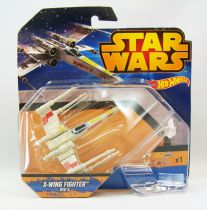 Star Wars Hot Wheels - Mattel - X-Wing Fighter Red 5