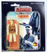 Star Wars L\'Empire Contre-Attaque 1980 - Mccano - Soldat Rebelle Tenue Hoth (Rebel Soldier) square card 20-C cardback
