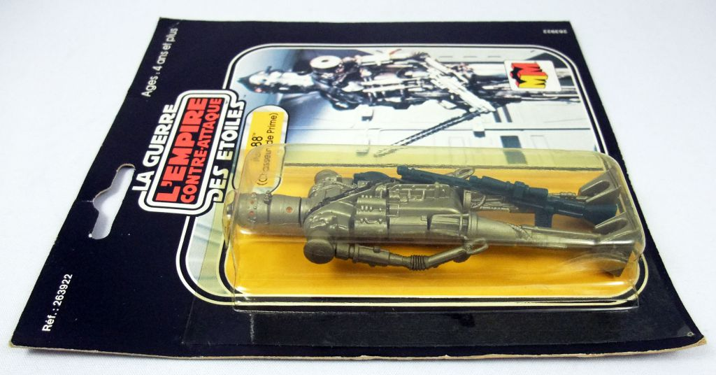 Star Wars L\'Empire Contre-Attaque 1980 - Meccano - IG-88 (Chasseur de Prime) (Bounty Hunter) - square card 20-C cardback