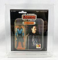 Star Wars L\'Empire Contre-attaque 1980 - Meccano - Lando Calrissian - carte carrée 20-C cardback