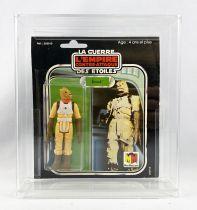 Star Wars L\'Empire Contre-attaque 1981 - Meccano - Bossk - carte carrée 18-back Pilot Run