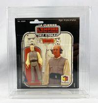 Star Wars L\'Empire Contre-attaque 1981 - Meccano - Lobot - carte carrée 18-back Pilot Run