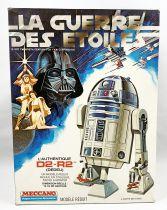 Star Wars La Guerre des Etoiles - L\'authentique D2-R2 (Dédeu) - Modèle Réduit - Meccano 1978 (occasion boite)