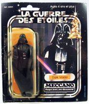Star Wars La Guerre des Etoiles 1979 - Meccano - Dark Vador (Darth Vader) carte carrée 20-A Pilot Run