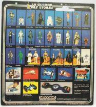 Star Wars La Guerre des Etoiles 1979 - Meccano - Le Cdt de l\'Etoile Noire Death Squad Commander carte carrée (5)