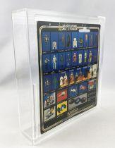 Star Wars La Guerre des Etoiles 1979 - Meccano - Le Cdt de l\'Etoile Noire (Death Squad Commander) carte carrée 20-A cardback