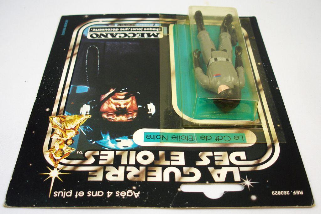 Star Wars La Guerre des Etoiles 1979 - Meccano - Le Cdt de l\'Etoile Noire Death Squad Commander carte carrée (3)