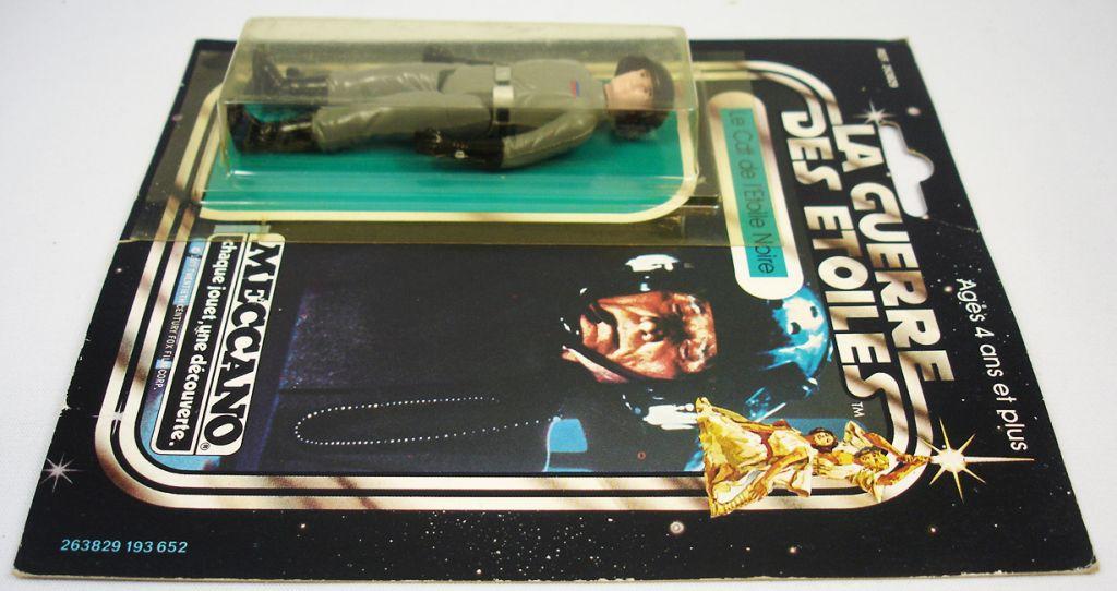 Star Wars La Guerre des Etoiles 1979 - Meccano - Le Cdt de l\'Etoile Noire Death Squad Commander carte carrée (4)