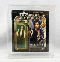 Star Wars La Guerre des Etoiles 1979 - Meccano - Yan Solo (Han Solo) - square card 20-A cardback